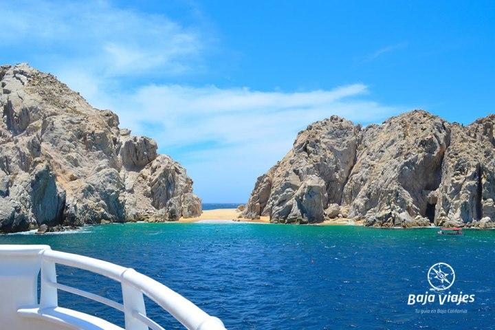 La Playa del Amor en Cabo San Lucas, Baja California Sur