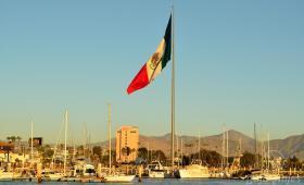 Vista Panorámica del Puerto de Ensenada