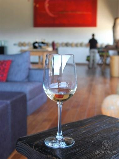 Degustación de vinos en Bodegas Santo Tomás, Valle de Guadalupe