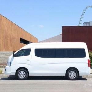 Transporte tipo Van con chofer