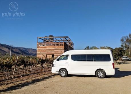Transporte tipo Van en Casa Frida, Valle de Guadalupe, Baja California