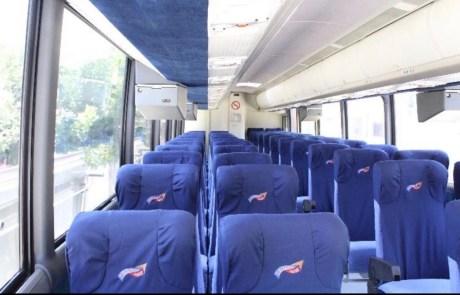 Interior de Autobús Turístico