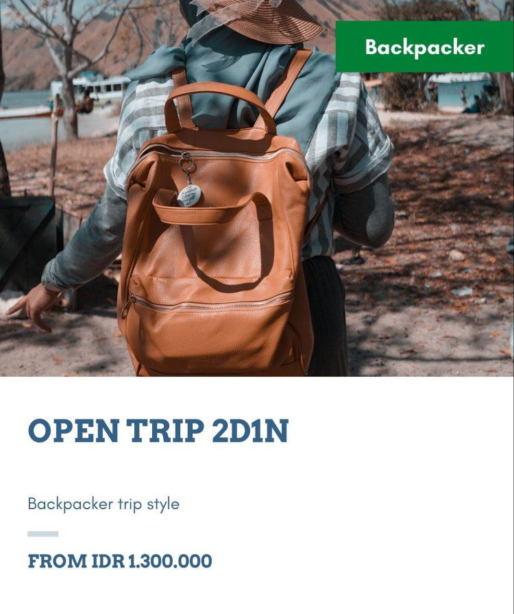 open trip 2 hari 1 malam