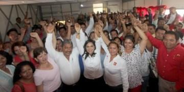 Guerrero está de pie, y en la lucha, dice Beatriz Mojica en encuentro con petistas 2