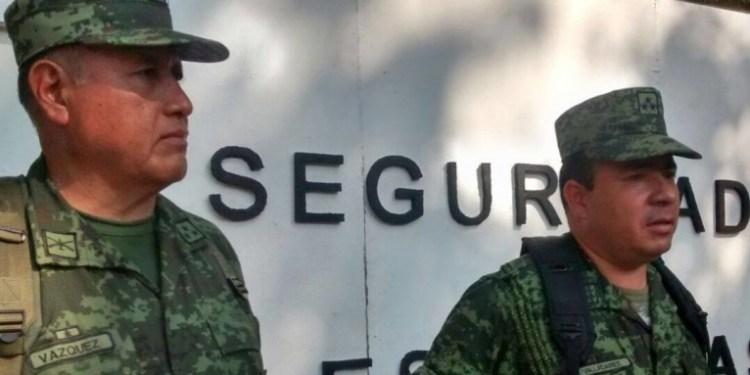 A cargo del ejército, seguridad en escuelas de Acapulco 3