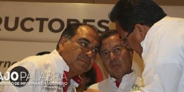 """Un 'Pacto por Guerrero', plantea Astudillo; """"sin compromisos con Aguirre"""", dice 2"""