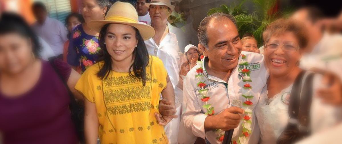 Se cierra la elección entre Astudillo y Mojica, según encuestas