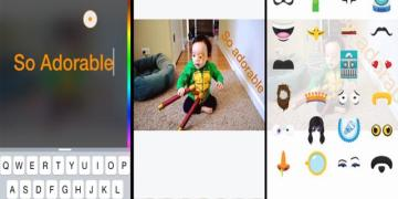 Permitirá Facebook para iOS añadir textos y filtros sobre las fotografías 2