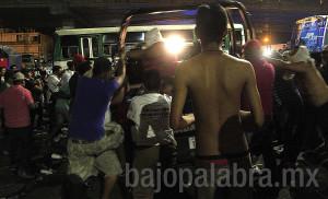 Claudio Vargas - Desalojo de comerciantes priistas en Acapulco 2