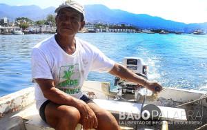 El Bary, rescatista de yates en Acapulco 2