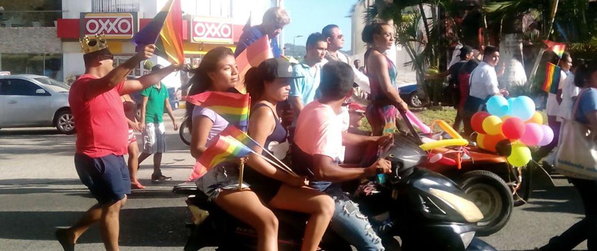 Busca sexta marcha gay en Acapulco concientizar y generar tolerancia