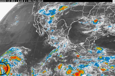Se forma tormenta tropical Guillermo en el Pacífico 1