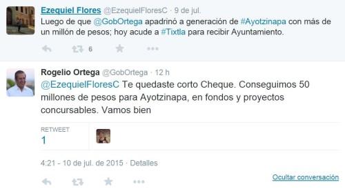 Ortega - Tuit 1