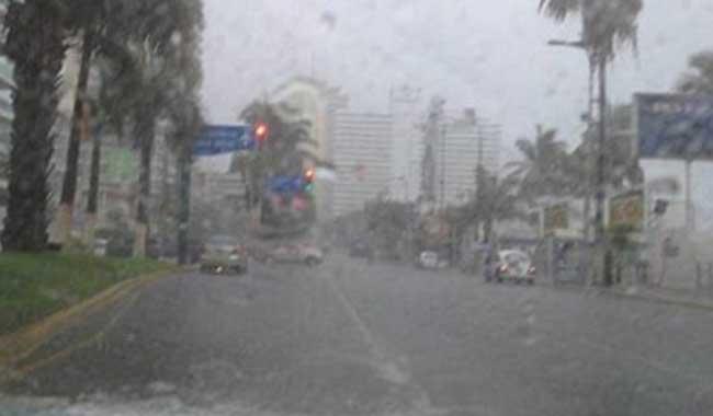 Lluvias y  vientos fuertes se pronostican para Guerrero