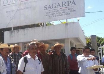 Protestan ante Sagarpa en Guerrero; piden cumplir con apoyos 5