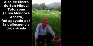 Video revela apoyo del crimen a alcalde electo de Totolapan, Guerrero 7