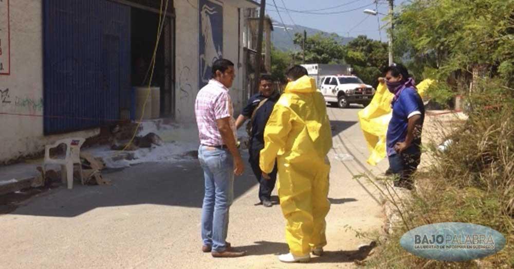 Se derraman 100 litros de ácido clorhídrico en Acapulco