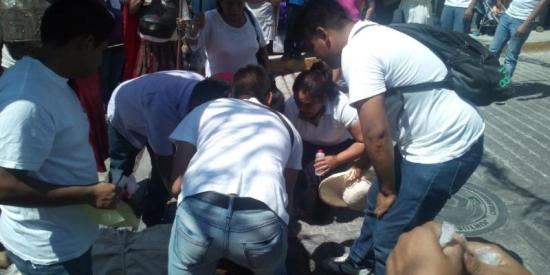 Chilpancingo Cristo desmayado