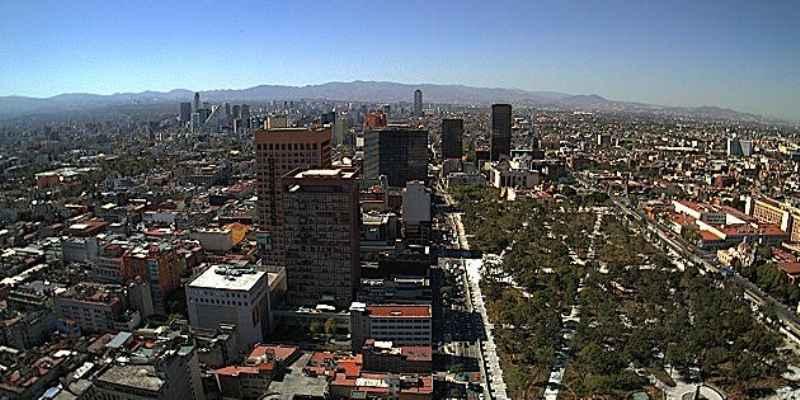 Lunes con buena calidad de aire en el valle de México