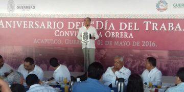 """""""Que a nadie le gane el derrotismo"""", dice Astudillo ante la CTM el Día del Trabajo 3"""