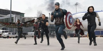Suben película completa de Civil War: Capitán América a un sitio porno 5