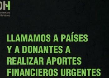 """La CIDH alerta que vive una crisis financiera """"extrema"""" 2"""