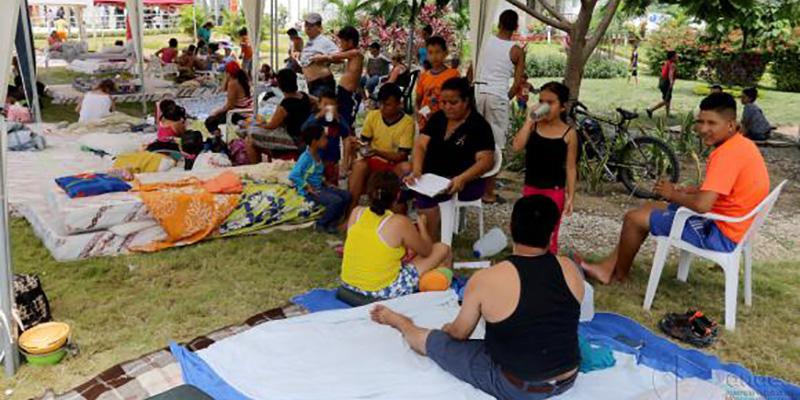 Habilitados 56 refugios en BCS por huracán Newton
