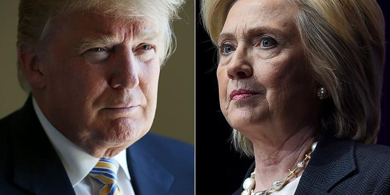 Estado de salud empaña candidaturas de Hillary y Trump