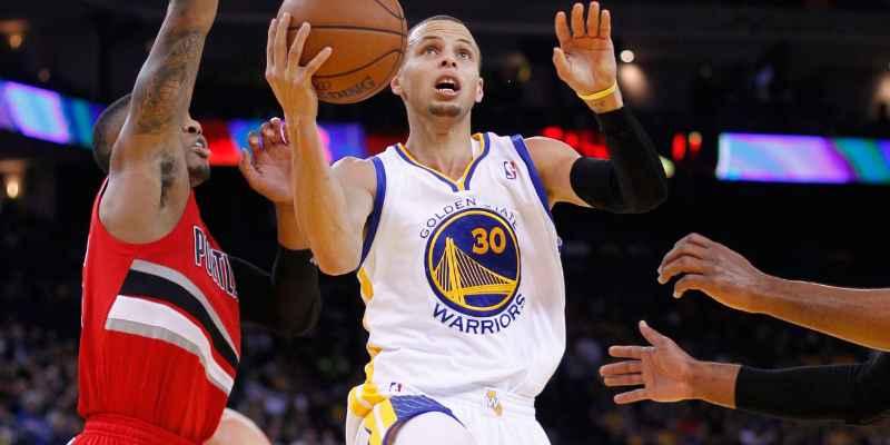Warriors vencen a Blazer y ya está en la final de Playoff NBA