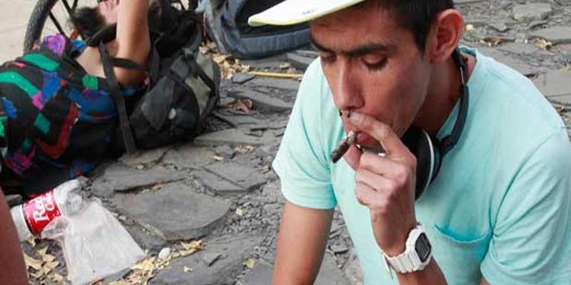 Olvidados, jóvenes detenidos por uso de drogas en Acapulco