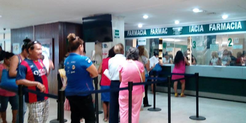 Hastauna semana para recibir medicamento en el IMSS de Acapulco
