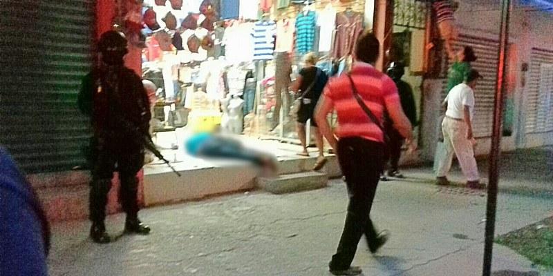 Persiguen a hombre y lo matan a balazos en periferia de Acapulco