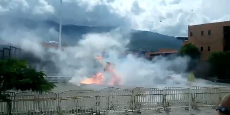 Chocan policías y normalistas en Guerrero; hay 7 detenidos
