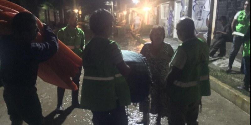 Lluvias en Chiapas dejan dos muertos e inundaciones