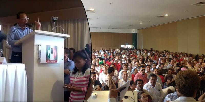 Con discurso anti-Evodio, asume Fermín dirigencia del PRI en Acapulco