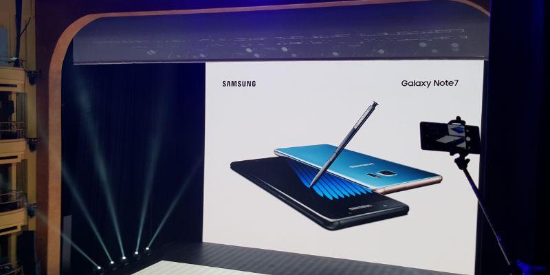 Note 7 se vendió poco en México: Samsung