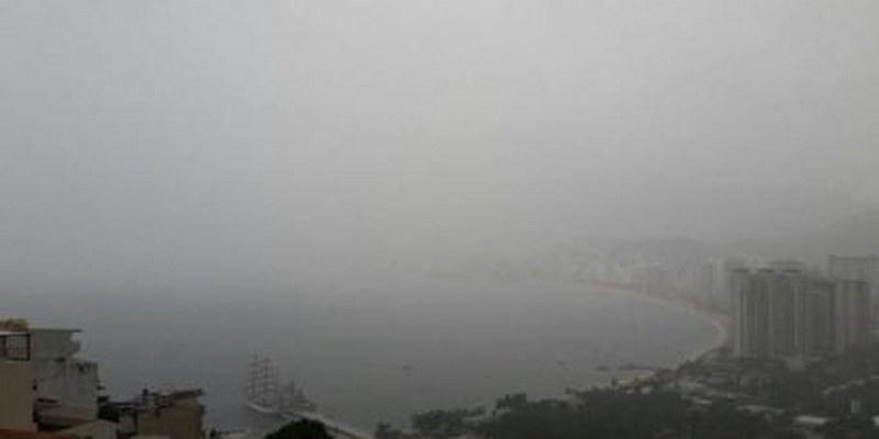 Emiten aviso de cierre de puerto de Acapulco por mal tiempo