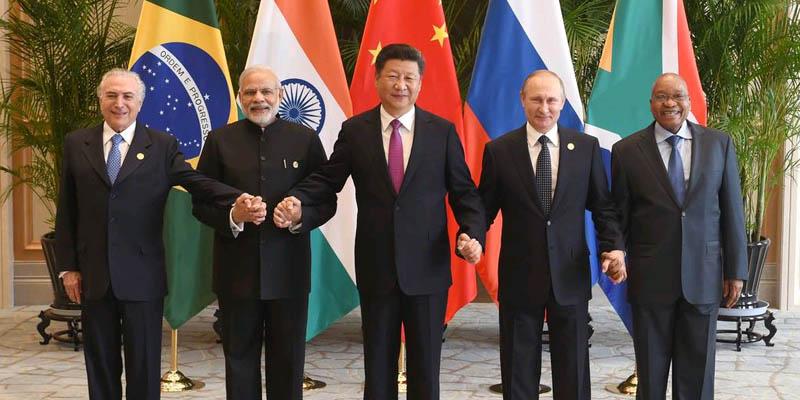 Pide China mayor protagonismo del BRICS
