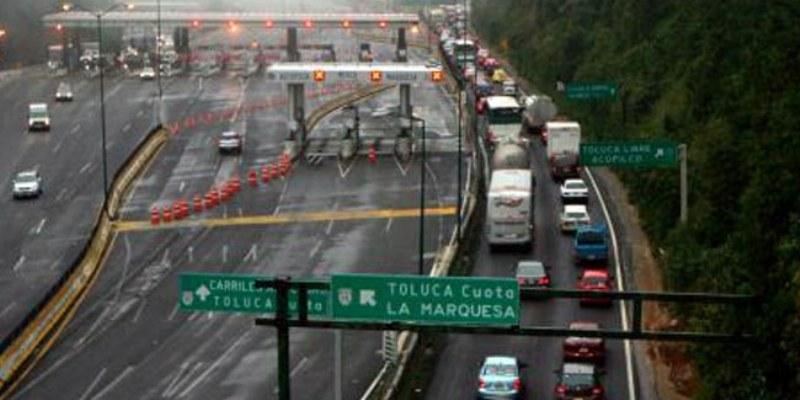 Neblina dificulta circulación en la México-Cuernavaca