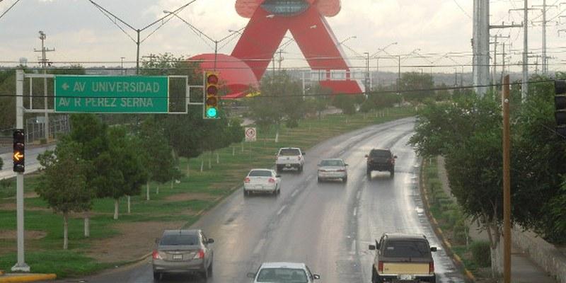 Alerta Naranja por lluvias en Ciudad Juárez