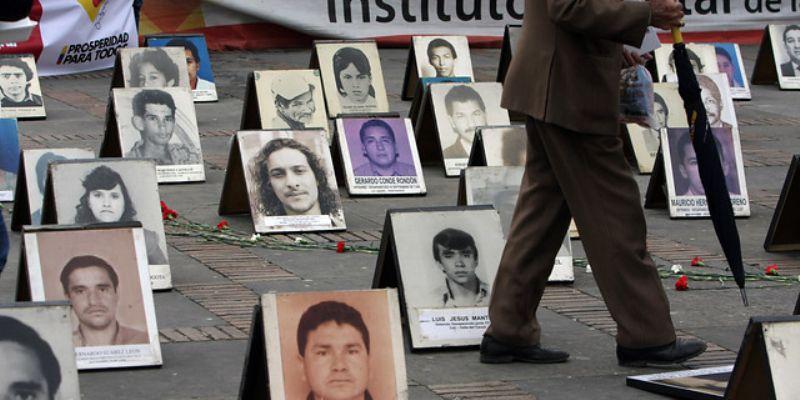 Reportan 23 mil desapariciones forzadas en Colombia durante 2016