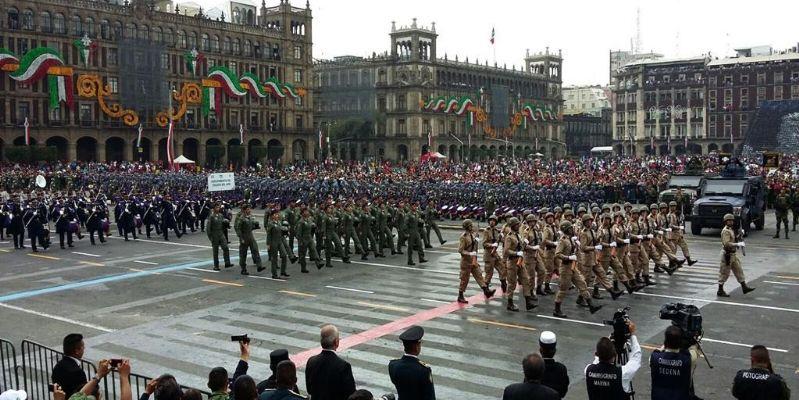 Alternativas viales por desfile militar en CDMX
