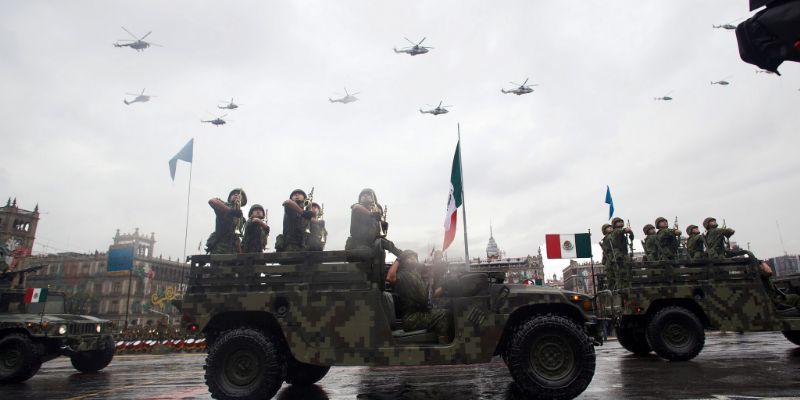 Suspenden vuelos en aeropuerto de CDMX por desfile militar