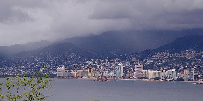 Zona de inestabilidad provocará lluvias en Acapulco