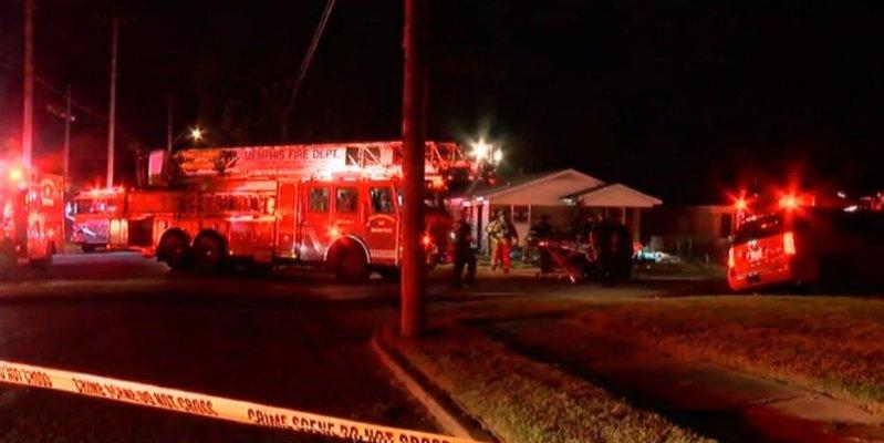 Mueren 6 niños y 4 adultos por incendio en Memphis, EU