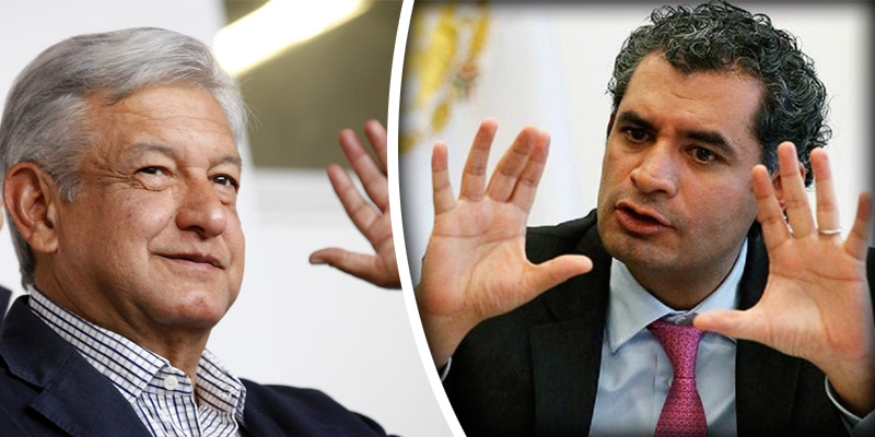 "Llama Ochoa ""sacatón"" a López Obrador"