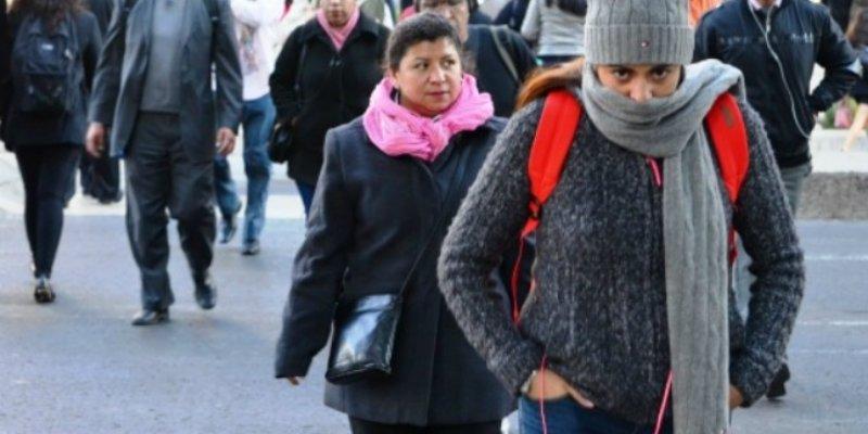 Frente frío ocasionará vientos y tolvaneras en la mayor parte del país
