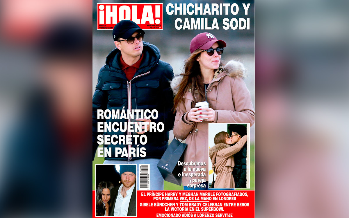 chicharito y camila 1