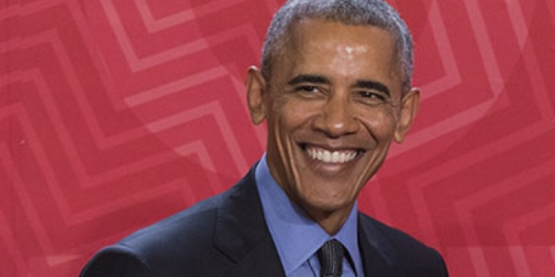¿En dónde y por qué reapareció Obama?
