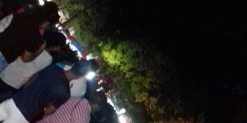 Semana Santa en Acapulco: Zócalo y calles, en tinieblas [VIDEO]